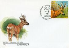 Estonia 2012 FDC Roe Deer Estonian Fauna 1v Set Cover Wild Animals Stamps
