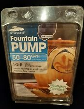 NEW Smartpond Fountain Pump 50-80 gph Model FP80 Adjustable Flow Control SML