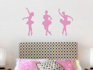 Ballerina Wall Stickers | Ballet Wall Decals | Ballet Wall Art