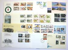 Bermuda Covers. First day covers from Collection. 1990's.