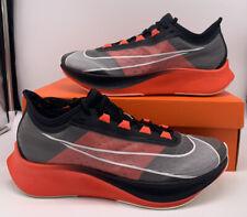 Nike Zoom Fly 3 NYC Marathon Black Bright Crimson CT1514-001 Mens Size