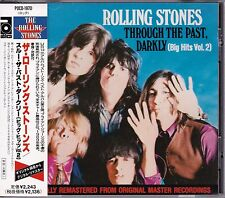 Free Shipping Rolling Stones Through The Past Darkly JAPAN CD Early Print Obi