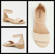 22a6bc357830 NIB Torrid 11.5W Blush Patent Faux Leather Mini Heels (Wide Width)  127