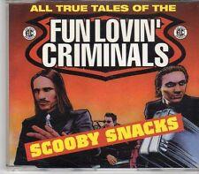 (EK718) Fun Lovin' Criminals, Scooby Snacks - 1996 DJ CD