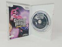 Nintendo Wii Guitar Hero 3 Legends of Rock, Guitar Hero World Tour lot/ Bundle