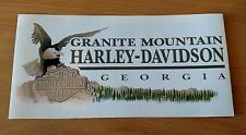 Harley Davidson Decal - Granite Mountain H-D Classic Logo - Georgia - Eagle