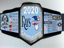 Tampa Bay Rays 2020 MLB American League (AL) Champions Championship Belt