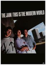 The JAM * POSTER * This is the Modern World - Paul Weller PROMO AD - AMAZING PIC