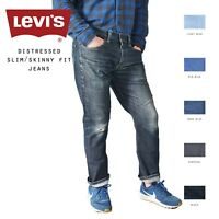 LEVIS DISTRESSED SLIM/SKINNY LEG JEANS DENIM W30 W32 W34 W36 W38 W40