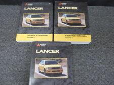 2002 Mitsubishi Lancer Sedan Shop Service Repair Manual Set ES LS OZ Rally 2.0L