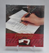 Sheaffer no nonsense Calligraphy pen set BNIB