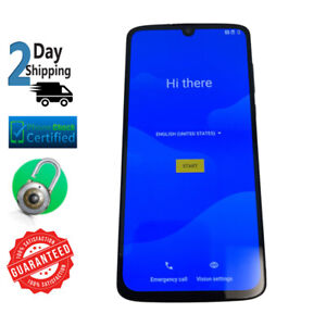 Motorola Moto Z4 128GB Flash Gray Verizon + GSM Unlocked Smartphone PLEASE READ