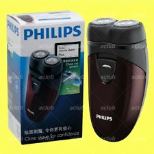 Philips PQ206 2-Head Close Cut Electric Men Shaver AA Powered Travel Clean Razor