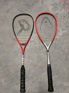 Head Ti.180 Squash racquet and Dunlop Jonathan power squash racquet