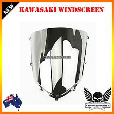 Double Bubble Windshield Windscreen Kawasaki Ninja ZX10R ZX 10R 2004-2005 Chrome