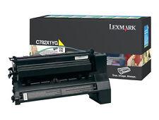 Original Lexmark Toner C782X1YG Yellow C782 X782 B