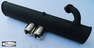 Exhaust Rear Silencer Back Box  SMART 450 0.6 0.7 SPORT BRABUS line  INOX