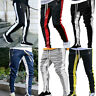 Mens Gym Slim Fit Tracksuit Bottoms Casual Jogging Joggers Sweat Pants Trousers