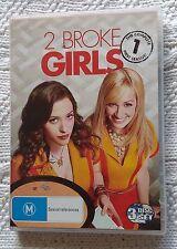 2 BROKE GIRLS - FIRST SEASON (DVD, 3-DISC SET) R-4, LIKE NEW, FREE POST AUS-WIDE