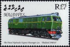 Thailand Railways HENSCHEL Class 3000 Diesel-Hydraulic Train Locomotive Stamp #1