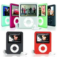 "1.8"" 8GB MP4 MP3 LCD Musik Video Digital Player Recording FM Radio Zubehörpaket"