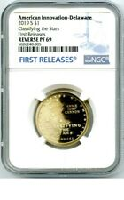 2019 S DELAWARE NGC PF69 REVERSE PROOF INNOVATION DOLLAR FIRST RELEASES LABEL