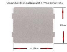 2 Stck. Glimmerscheibe 108 X 100mm für Mikrowellen
