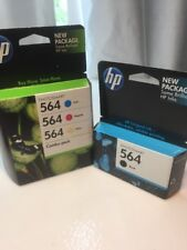 GENUINE HP 564 Ink Cartridge 4-Pack