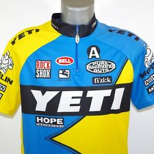 Vintage 90s YETI Cycling Jersey Size GG (XL) by IDT Sports Made in Brazil