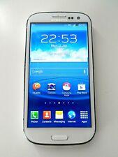 *FAULTY* Samsung Galaxy SIII (GT-I9300) White Smart Phone