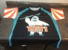 Lacrosse Yeti Jersey Shirt Adult Xl Bumbles Abominable Snowman Rudolph Unique