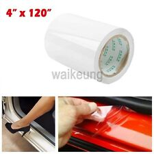 "4""x 120"" Clear Car Door Sill Edge Paint Protection Vinyl Film Sheet Anti-Scratch"
