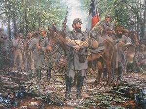 John Paul Strain The Road To Fort Royal, VA Print Signed & Numbered Limited Ed.