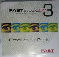 Schnelle Studio DV Produktion Pack (2001) - Pro Videobearbeitung Software-sehr selten