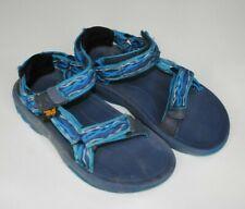 Boys TEVA Sandals size 11 blue water trail hiking kids toddler
