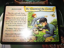 HARRY POTTER TCG CARD CHAMBER OF SECRETS DE-GNOMING THE GARDEN 9/140 RARE MINT