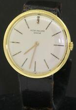 Patek Philippe Calatrava 2591 vintage 18K gold winding men's watch-all original!