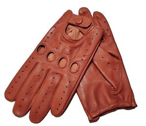 Gloves sheepskin Genuine leather Driving men's perfect Fit TOP quality,