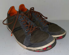 Plae Mens Green Lace Up Athletic Shoes Size 12M