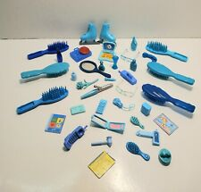 Barbie Vintage Modern HUGE BLUE LOT Accessories Clothes Sunglasses Phone Make-up