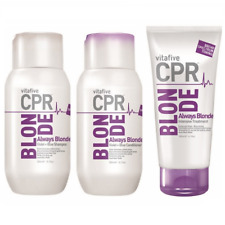 Vita 5 CPR Always Blonde Shampoo & Conditioner 300ml + Treatment 180 (VitaFive)
