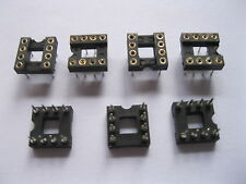 360 pcs IC Socket Adapter Pitch 2.54mm 8 PIN Round DIP High Quality X=7.62mm