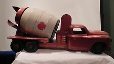 Concrete Cement Mixer TOY Truck Structo 10 wheel  Ready-Mix  Early 1950's Dodge