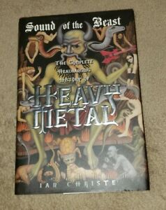 Sound of the Beast: The Complete Headbanging History of Heavy Metal hardcover