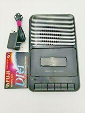Onn Portable Cassette Tape Player ona13av504 Recorder Blank Tape Clean Tested