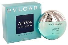 Bvlgari Aqva Marine Pour Homme 3.4oz/100ml Eau De Toilette Spray*EDT*For Men NIB