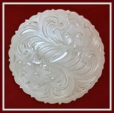 """2 1/2"""" (2.5"""") Silver Hand Engraved Western Concho                            #95"""