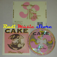 CD CAKE Pressure chief 2004 austria COLUMBIA COL 517450 2 lp mc dvd
