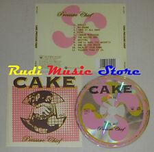 CD CAKE Pressure chief 2004 austria COLUMBIA COL 517450 2 lp mc dvd