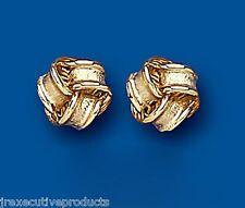 Knoten Ohrringe Gold Knoten Ohrstecker Gelbgold Stecker Knoten Stecker 7mm